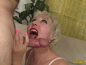Amazing Grandma Dalny Marga Gets Fucked Irrevocably by an Abb