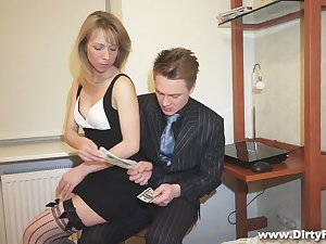 Nice blond student with puffy pussy Felicia C gets fucked be worthwhile for declaratory