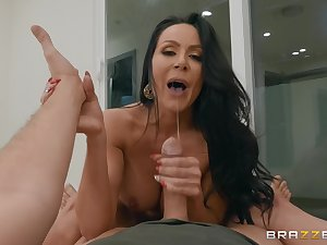 MILF Kendra Thirst for blackmailed into sucking a large dick