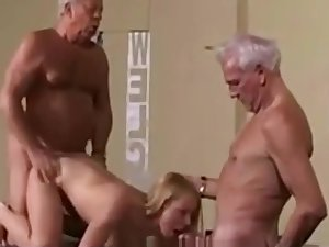 Output Superannuated Young Teenie Unsubtle Fucked White Hair Grandpas - watch more on adultx.club