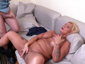Bereny Szabo Anett is the real master of sucking and jumping in the sky a cock