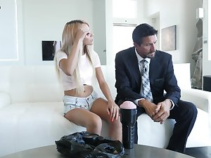 Cum loving teen Hime Marie gets fucked by her stepdad at home