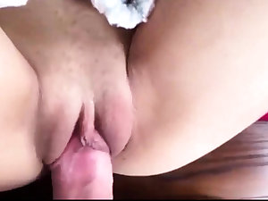 Amateur Teen Tight Pussy Premature Cum exceeding Belly
