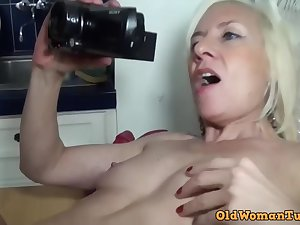 French blonde mommy hard porn video
