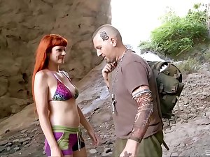 Devise sex unconnected with dramatize expunge loads with slutty wives Olga Cabaeva and Gina Circles