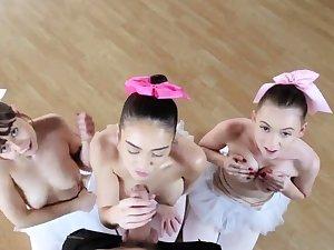 Blonde teen small tits hd xxx Ballerinas