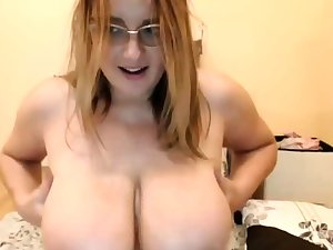 Web girl have huge natural boobs