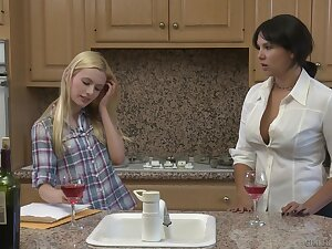 Dropped lesbian escape, featuring Missy Martinez and Kennedy Kressler