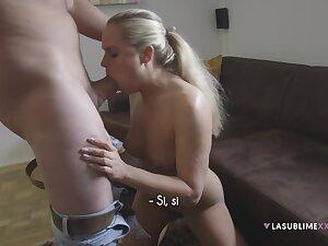 Czech hottie Barra Brass strives to choose casting surrogate with a hot blow