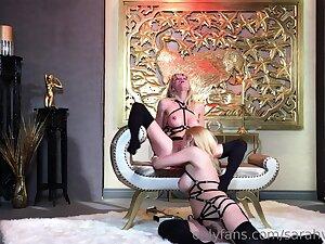 Harsch lesbian domination slave lick mistress bore pussy