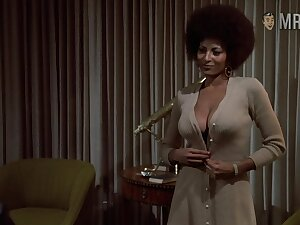 Naked Pam Grier retro compilation photograph