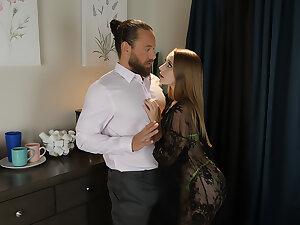 Laney Grey fucks her friend's husband one last time.