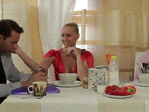 Kathia fucks her husband facsimile brother