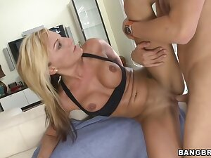 Fucks Younger Guy After Training Down Val Malone